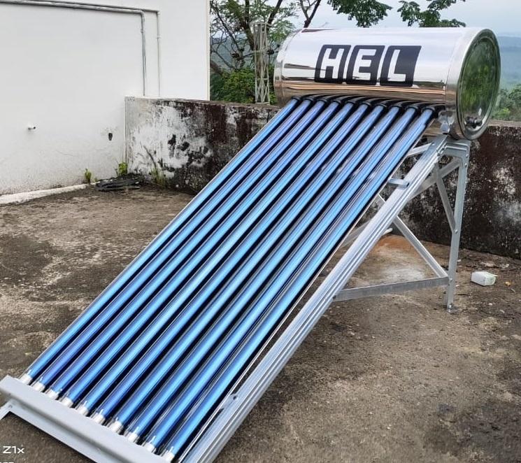 HEL Solar water Heater 1