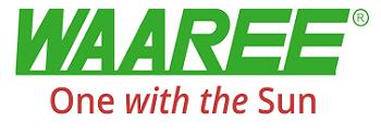 waaree solar logo